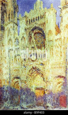 Claude Monet 1840 1926 der Kathedrale von Rouen an Mittag 1894 stand Puschkin Museum für bildende Künste in Moskau - Stockfoto