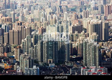 Hochhäuser in shanghai - Stockfoto