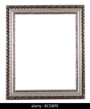 schwarzes holz bilderrahmen isoliert auf wei em hintergrund stockfoto bild 60473396 alamy. Black Bedroom Furniture Sets. Home Design Ideas