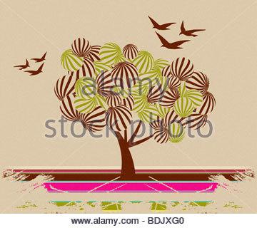 Urban Art Illustration, Vektor-Datei leicht zu bearbeiten oder Farbe zu ändern. - Stockfoto
