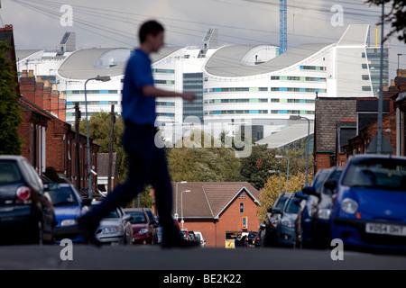 Ein Blick auf die neue Queen Elizabeth Super Krankenhaus, eröffnet im Jahr 2010, Birmingham, England, UK - Stockfoto