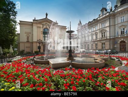 Bielsko-Biala, Schlesien, Polen - Stockfoto