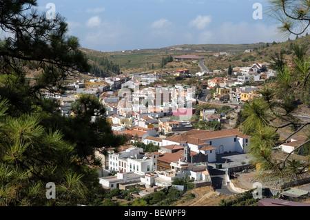 Dorf Vilaflor auf der Kanarischen Insel Teneriffa, Spanien - Stockfoto