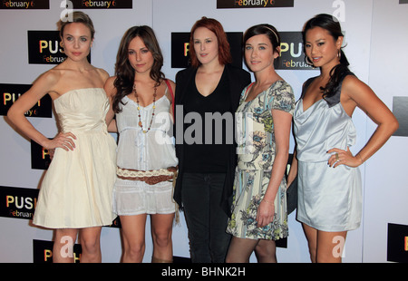 RUMER WILLIS SOROITY CAST PUSH LOS ANGELES PREMIERE LOS ANGELES CA USA 29. Januar 2009 - Stockfoto
