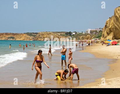 Strand von Conil De La Frontera, Costa De La Luz, Andalusien, Spanien - Stockfoto