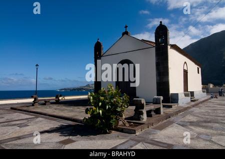 Kleine Kapelle in Garachico, Teneriffa, Kanarische Inseln, Spanien, Europa - Stockfoto