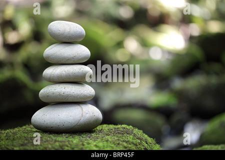 Ausgeglichenheit und Harmonie in der Natur - Stockfoto