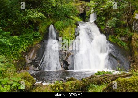 Triberger Wasserfälle im Schwarzwald, Deutschland - Stockfoto
