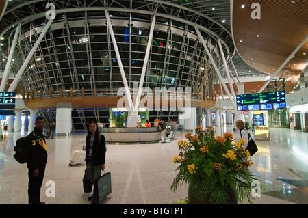 Innere des KLIA Flughafen in Kuala Lumpur. - Stockfoto