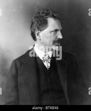 Alphonse Mucha (1860-1939), tschechischen Jugendstil Maler und Plakatkünstler Designer. - Stockfoto