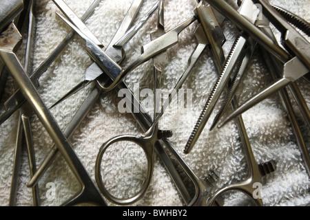 Chirurgische Instrumente - Stockfoto