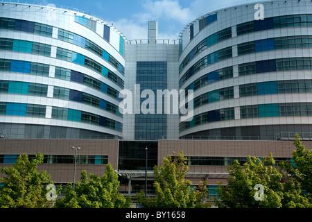 Krankenhaus der Königin-Elizabeth, Selly Oak, Birmingham. Im Sommer 2010 eröffnet. - Stockfoto