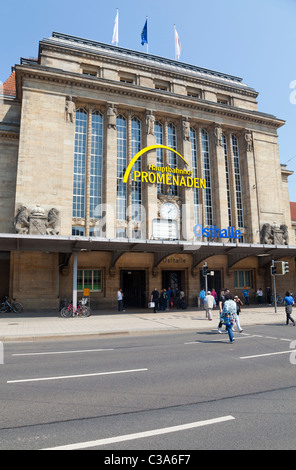 Hauptbahnhof, Leipzig, Sachsen, Deutschland - Stockfoto