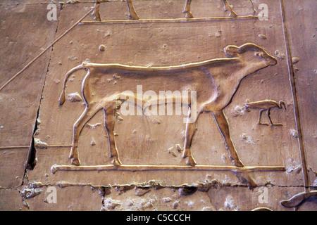 SETI ich Tempel (13. Jh. v. Chr.), Abydos, Ägypten - Stockfoto