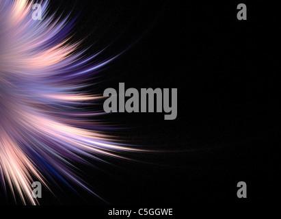 Abstrakte Fraktal Kunst, die eine große High-Tech Kunstelement oder Hintergrund für jedes Design-Projekt macht. - Stockfoto