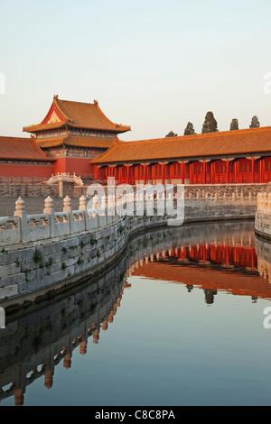 China, Peking, Palastmuseum Peking oder verbotene Stadt - Stockfoto