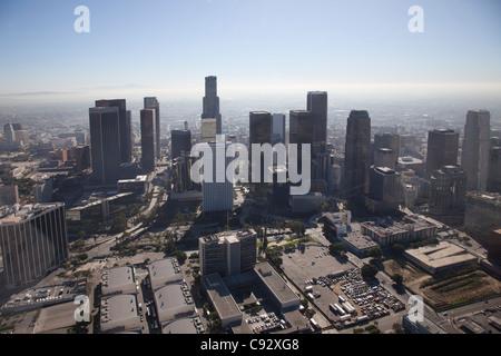 Die Stadt Los Angeles ist die bevölkerungsreichste Stadt in Kalifornien, und die zweite bevölkerungsreichste in - Stockfoto