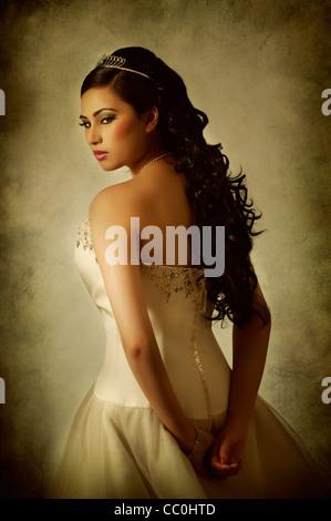 Schöne asiatische Braut - Stockfoto