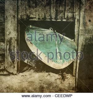 altes Surfbrett - Stockfoto