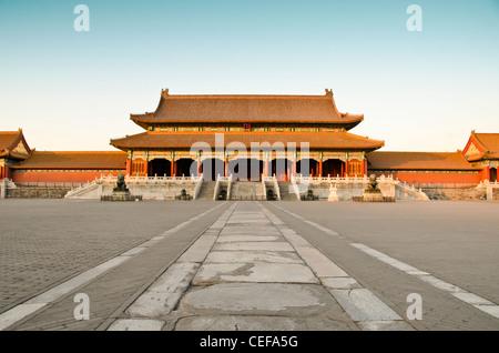 Die Verbotene Stadt (Palast) in Peking, China - Stockfoto
