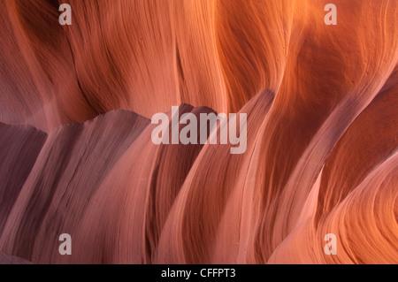Roten Sandsteinmauern - Stockfoto