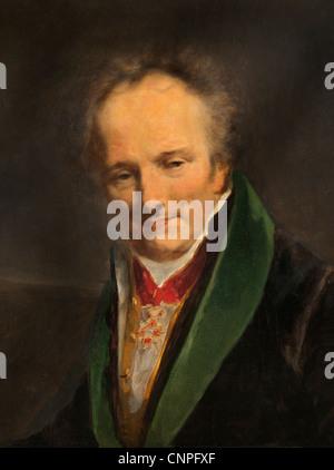 Dominique Le Baron Vivant Denon1747-1827 French Maler Schriftsteller Portrait 1812 von Pierre Paul Prud 1758 - 1823 - Stockfoto