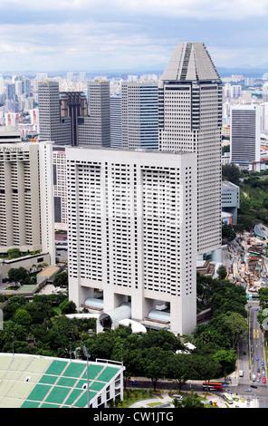 Singapur ist eine moderne, saubere Hauptstadt in Süd-Ost-Asien - Stockfoto