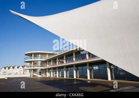 De La Warr Pavilion, Bexhill-on-Sea, East Sussex, England, Vereinigtes Königreich, Europa - Stockfoto