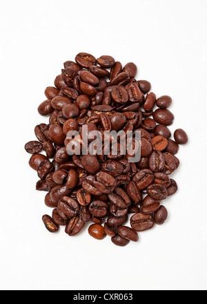 Kaffee Bohnen - Stockfoto