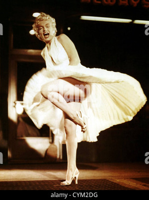 Marilyn Monroe Seven Year Itch 1955 Direktor: Billy Wilder - Stockfoto