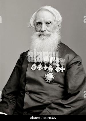 Erfinder des Telegraphen-Code Samuel F.B. Morse - Stockfoto