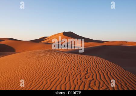 Wandern Sie in der Wüste Sahara, Marokko - Stockfoto