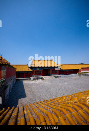 Verbotene Stadt, Peking, China - Stockfoto