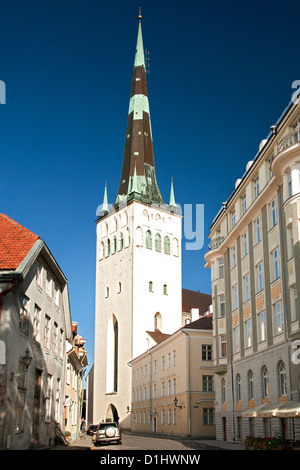 st olaf kirche in tallinn estland europa stockfoto bild 168579031 alamy. Black Bedroom Furniture Sets. Home Design Ideas