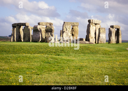 England, Wiltshire, Stonehenge - Stockfoto