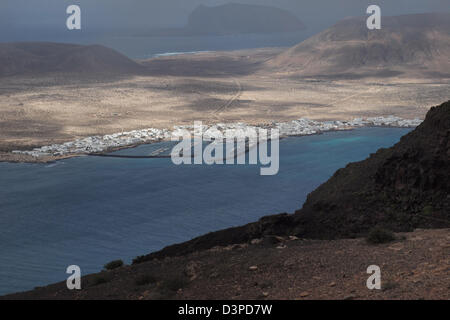 Insel Isla la Graciosa, Lanzarote, Kanarische Inseln, Spanien - Stockfoto