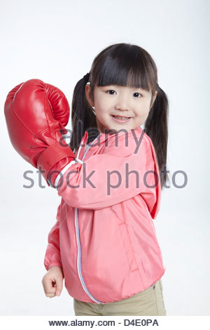 Asien und Pazifik, Asien, China, Peking, Weiblich, Mädchen, sechs Jahre alt, die gelbe Rasse, das chinesische Volk, - Stockfoto