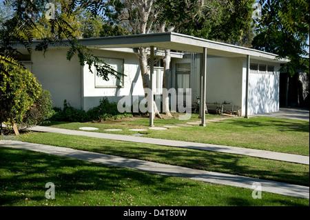 ... Case Study House 1960er Jahren Mitte Des Jahrhunderts Moderne  Architektur In West Los Angeles   Stockfoto