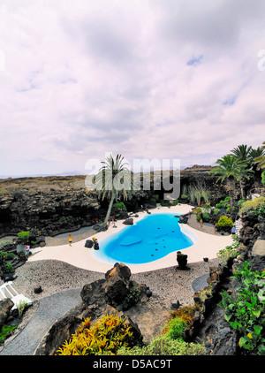 Jameos del Agua, Lanzarote, Kanarische Inseln, Spanien - Stockfoto