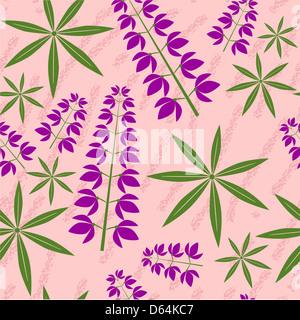 Nahtlose Grunge floralen Textur 521 - Stockfoto
