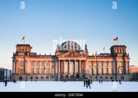 Reichstag, Haus des Deutschen Bundestages. - Stockfoto