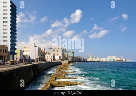 Malecon, Havanna, Kuba, Caribbean - Stockfoto