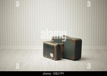 Vintage Gepäck - Stockfoto