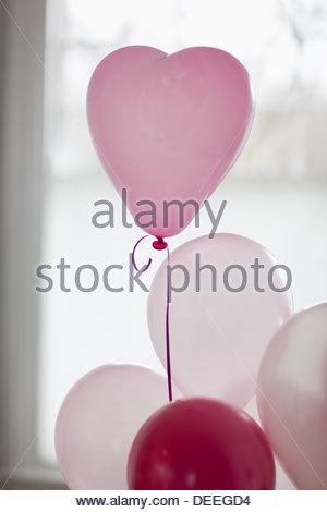 Herzform Ballon - Stockfoto