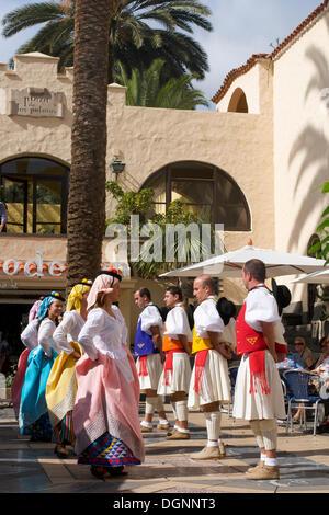Folklore-Festival in Las Palmas, Gran Canaria, Kanarische Inseln, Spanien, Europa - Stockfoto