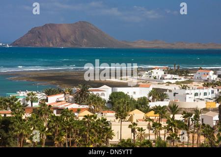 Stadt von Corralejo, Fuerteventura, Kanarische Inseln, Spanien - Stockfoto