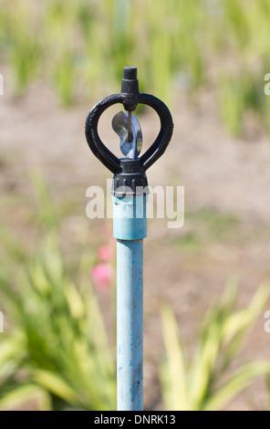 Schalten Sie die automatische Bewässerung Tool Nahaufnahme. - Stockfoto