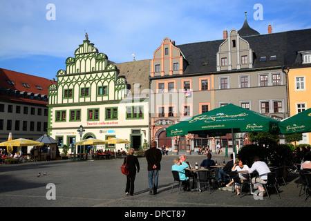weimar deutschland europa marktplatz stockfoto bild 25268455 alamy. Black Bedroom Furniture Sets. Home Design Ideas
