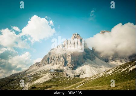 Italien, Provinz Belluno, Region Venetien, Auronzo di Cadore, Wolken bei Tre Cime di Lavaredo - Stockfoto