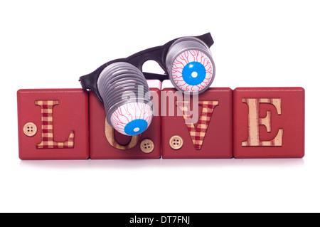 Crazy in Love Studio Ausschnitt - Stockfoto